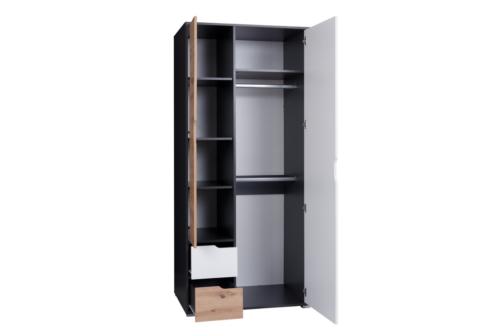 Szafa IWA IW12 z półkami i szufladami
