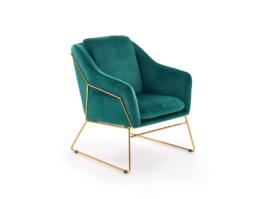 Fotel wypoczynkowy SOFT 3 zielony