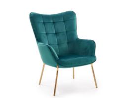 Fotel wypoczynkowy CASTEL zielony