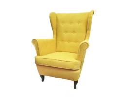 Fotel USZAK żółty