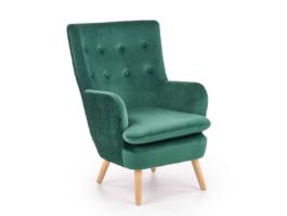 Fotel wypoczynkowy RAVEL zielony