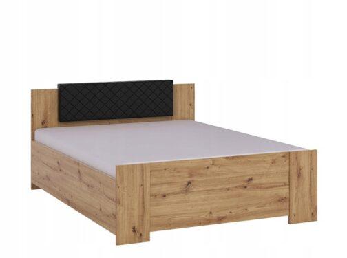 Łóżko BONO Dąb Artisan z wezgłowiem