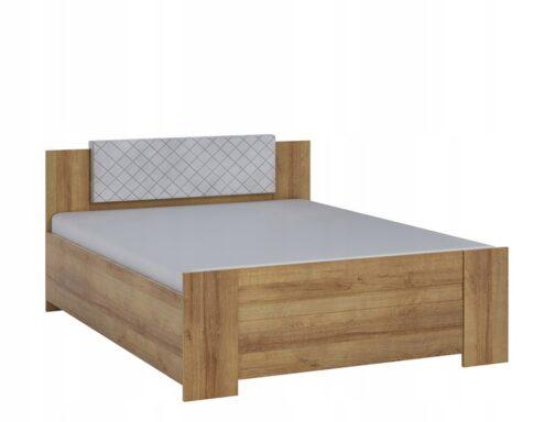 Łóżko BONO Dąb Złoty z wezgłowiem