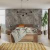 Zestaw mebli BONO 150 Dąb Monastery szafa 150 komoda łóżko stoliki nocne