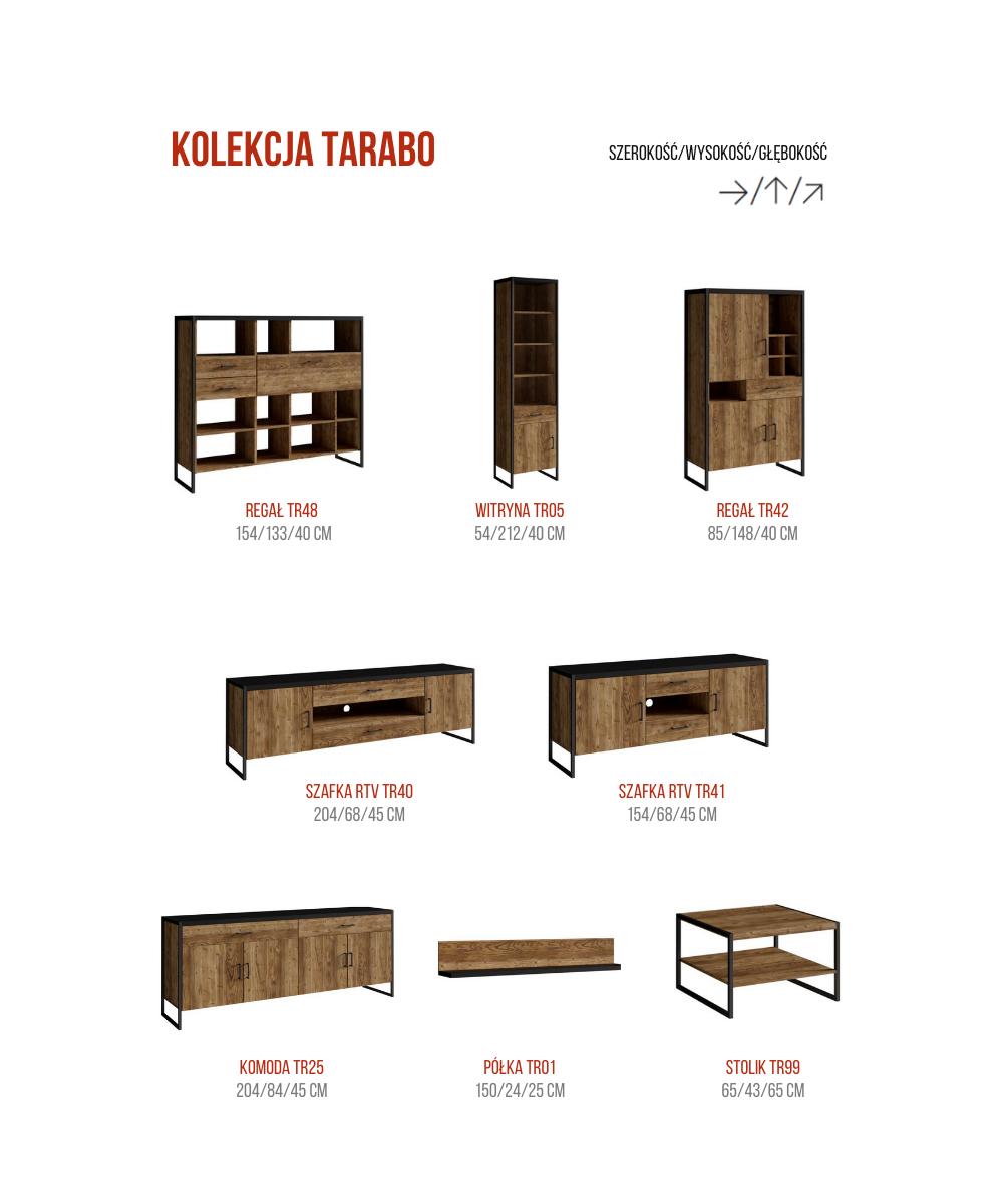 Elementy kolekcji TARABO