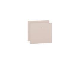 Fronty (2 szt.) CESAR 20-001 pudrowy