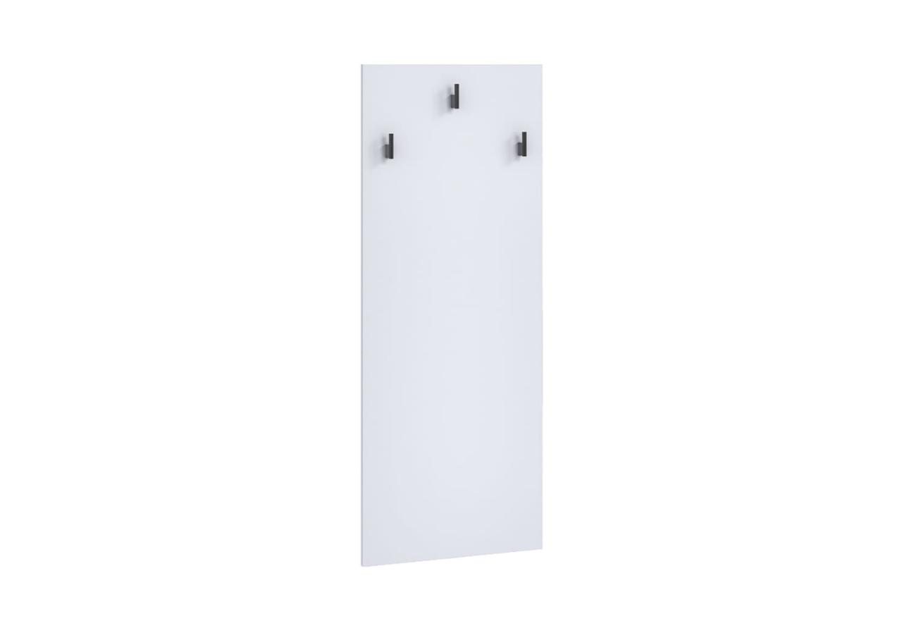 Wieszak OLIER OL9 biały w industrialnym stylu drewno metal
