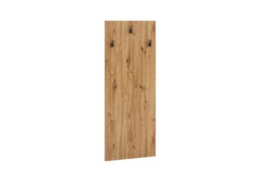 Wieszak OLIER OL9 dąb artisan w industrialnym stylu drewno metal