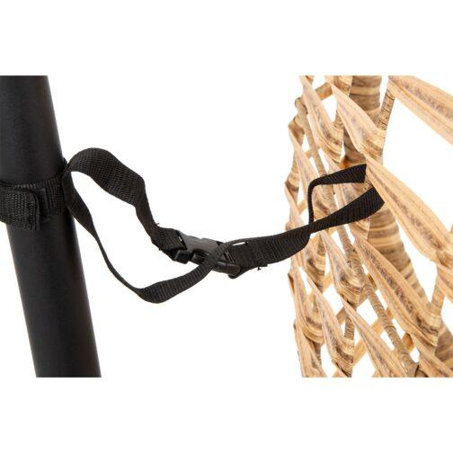 Huśtawka fotel wiszący kokon Slack brązowy