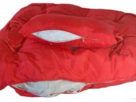 Poduszka do fotela wiszącego Slim czerwona