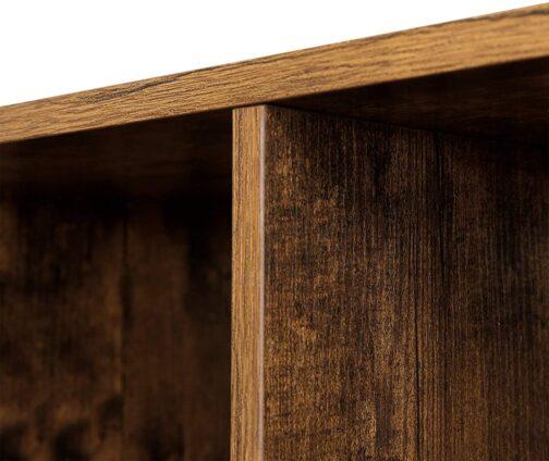 Industrialny regał schodkowy vintage VASAGLE półka loft LBC63BX
