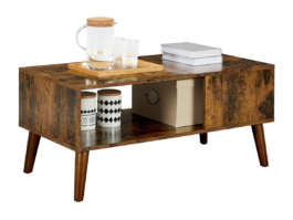 Industrialny stolik kawowy retro VASAGLE