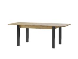 Stół LUCAS 40 LC08 dąb artisan / czarny mat