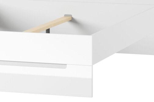Łóżko SELENE 33 biały połysk SZYNAKA MEBLE