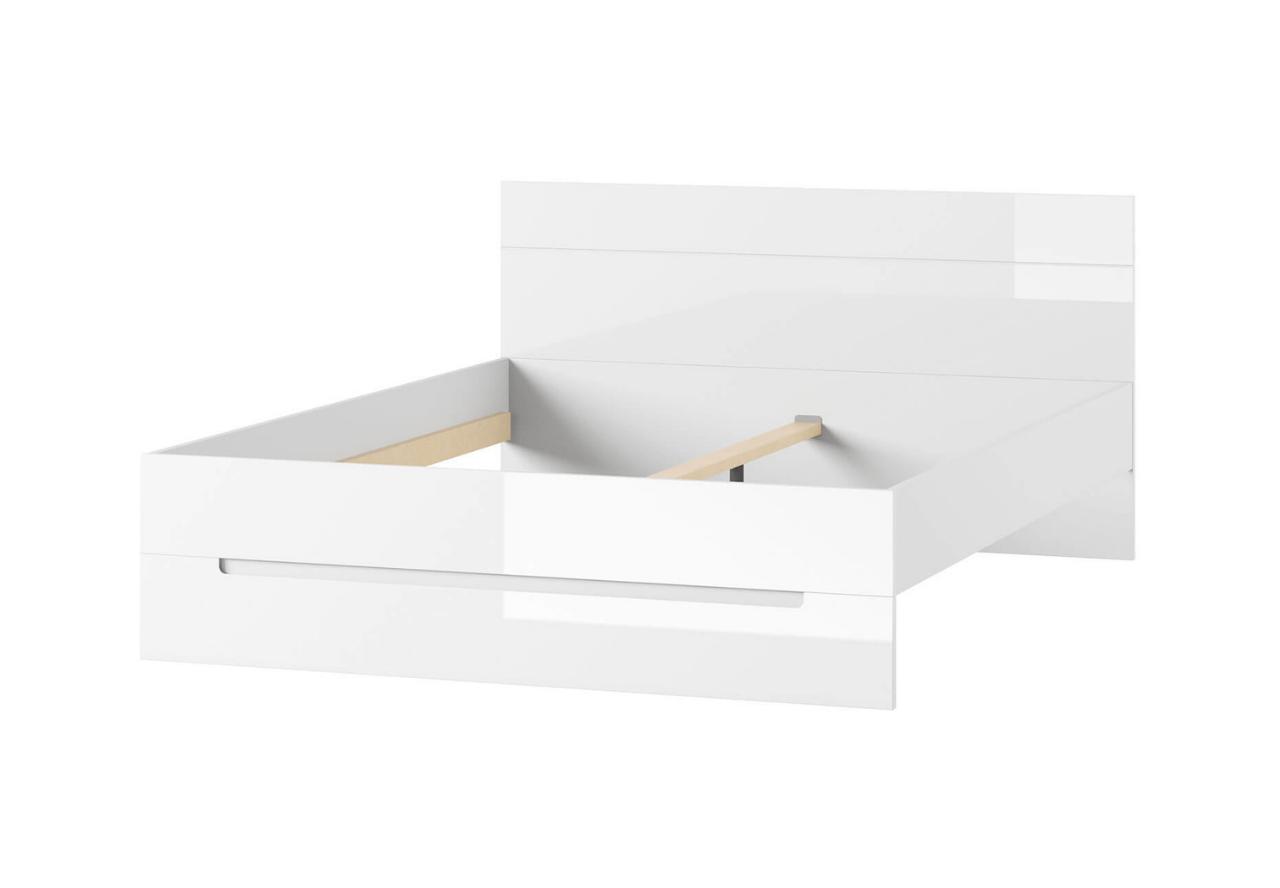 Łóżko SELENE 35 biały połysk SZYNAKA MEBLE