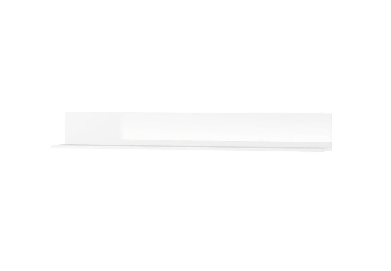 Półka wisząca SELENE 24 biały połysk SZYNAKA MEBLE