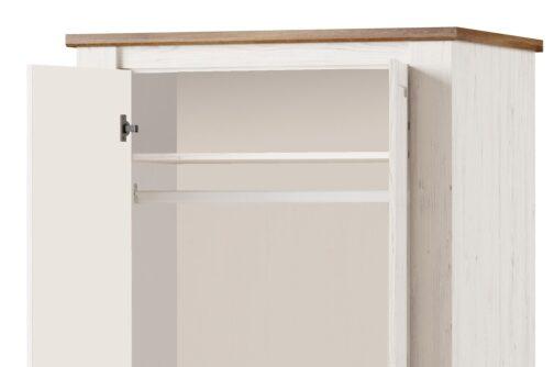 Szafa COUNTRY 70 2-drzwiowa dąb stirling SZYNAKA MEBLE