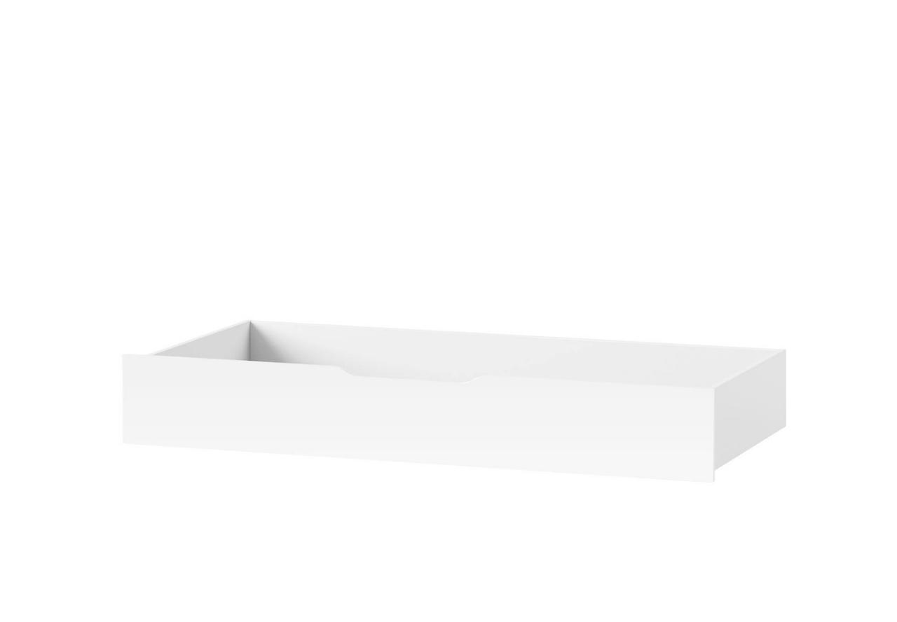 Szuflada do łoża SELENE 34 biały połysk SZYNAKA MEBLE