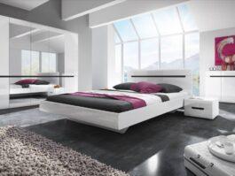 Łóżko HEKTOR TYP 32 180 biały połysk